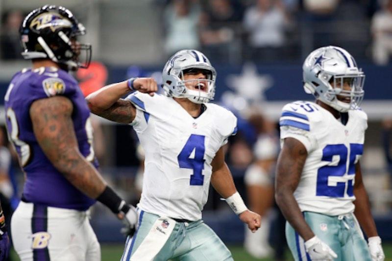 NFL Dallas Cowboys juega
