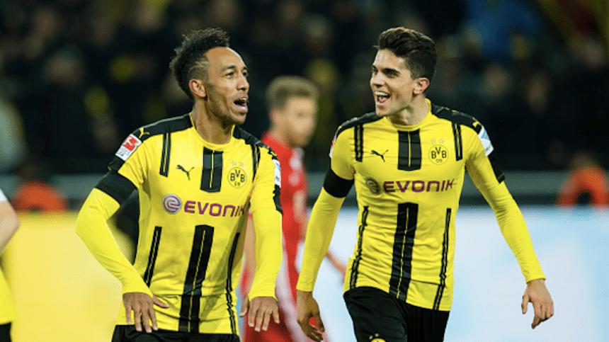 Checa el gol de Aubameyang que le dio el Der Klassiker al Borussia Dortmund