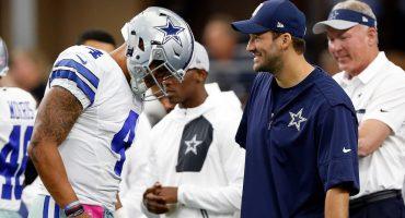 Tony Romo nos da una lección de humildad y le pasa la estafeta a Prescott