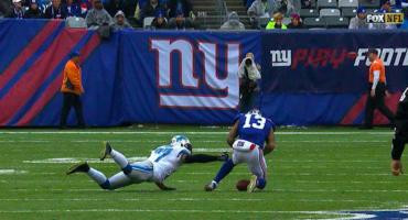 Increíble:  el ultramega fail de los oficiales en el el juego de NY Giants