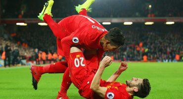 You'll never walk alone: Liverpool  remonta y aplasta al Stoke City