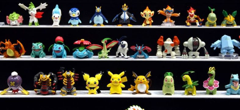 Juguetes de Pokémon