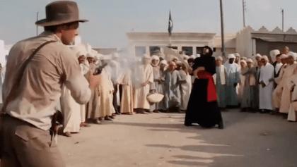 Indiana Jones Diarrea
