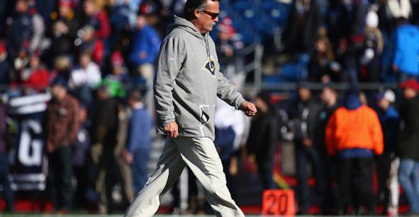 ¡Boom! Los Rams despiden al coach Jeff Fisher