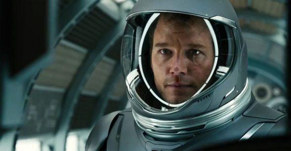 Pasajeros, una película de amor en el espacio.