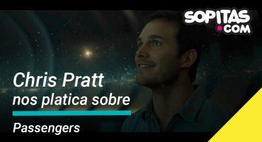 ¿Qué llevaría Chris Pratt si se quedara solo en una nave espacial?