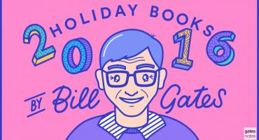 Los libros que Bill Gates recomienda leer estas vacaciones