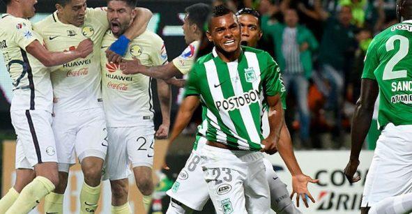 La Liga MX ayuda al América, la liga de Colombia amarra al Atlético Nacional