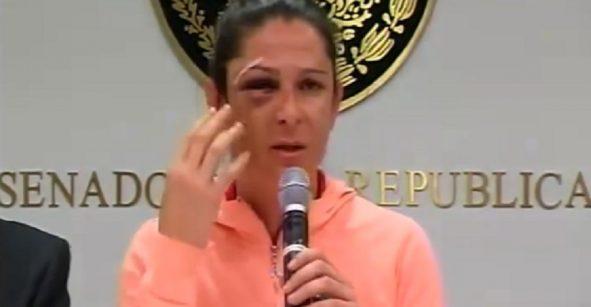 Dos de los agresores de Ana Gabriela Guevara ya habrían sido identificados
