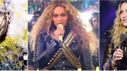 Björk, Beyoncé y Madonna, son las mujeres del 2016
