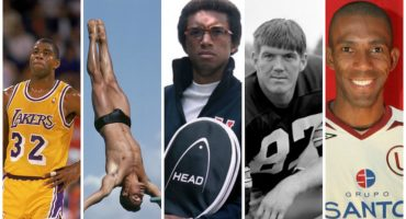 Los cinco deportistas que le hicieron frente al SIDA