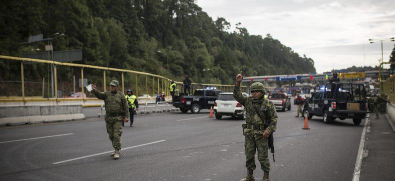 Ejército, Fuerzas Armadas, Ley de Seguridad Interior, General Salvador Cienfuegos