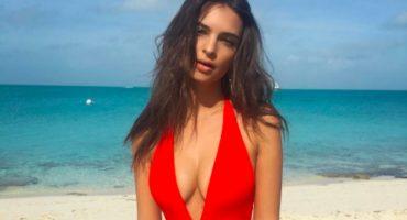 ¿Quién dijo frío? Emily Ratajkowski y sus ardientes vacaciones en Las Bahamas