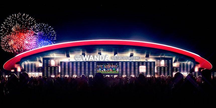 Atlético de Madrid. Wanda Metropolitano