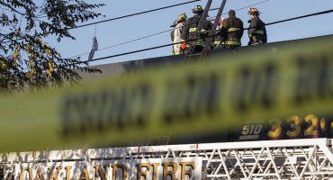 Incendio en rave de Oakland deja al menos 40 desaparecidos