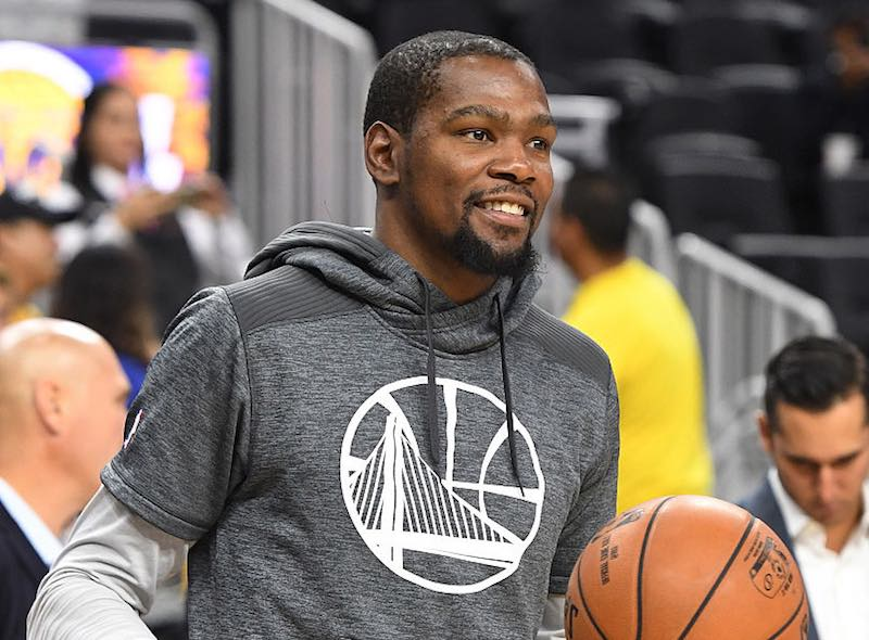 Kevin Durant con Golden State Warriors