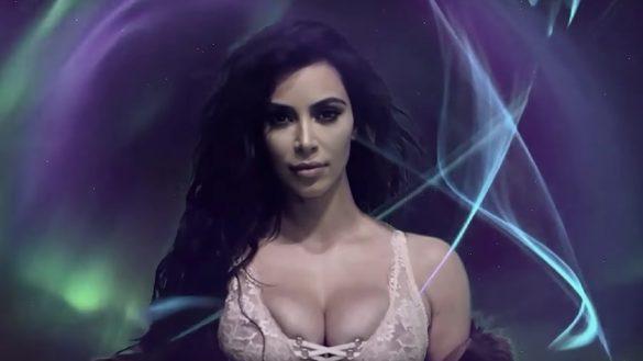 Kim Kardashian para LOVE 2016