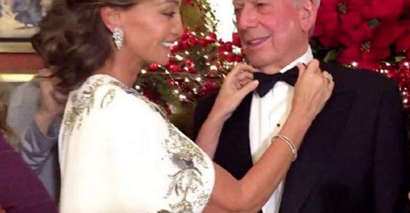 Mario Vargas Llosa se quiso ver en onda y le entra al #MannequinChallenge