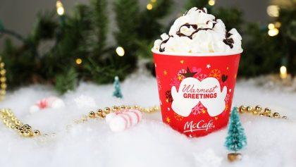 Vasitos navideños de McDonald's