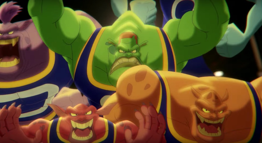 Los Monstars de Space Jam