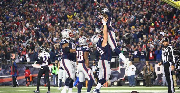 Otro exitoso cierre para New England Patriots en el Monday Night Football