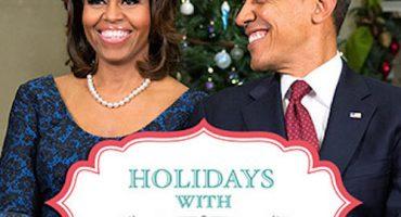 La familia Obama les desea feliz Navidad con esta playlist