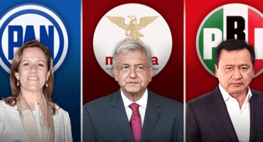 Encuesta 2018: PAN arriba, PRI y Morena empatados... mi partido es un