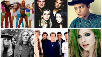 Año por año: conoce la canción más popular de 1990 hasta el 2016