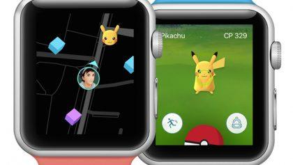Pokémon Go sí llegara al Apple Watch… ¿y?