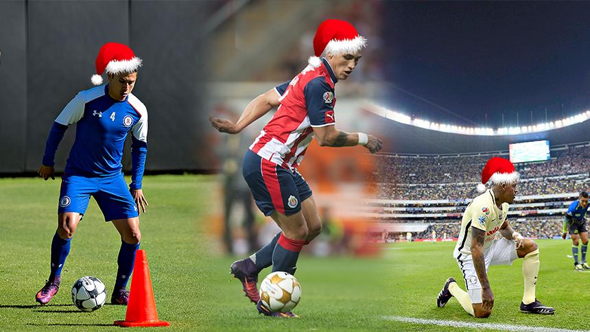 Regalos de Navidad para la Liga MX
