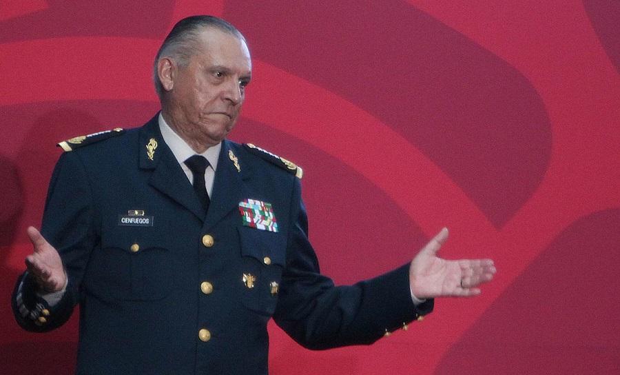 General Salvador Cienfuegos, Ley de Seguridad Interior