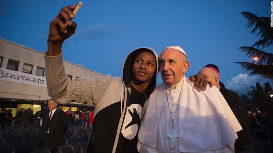 El Papa Francisco en Roma