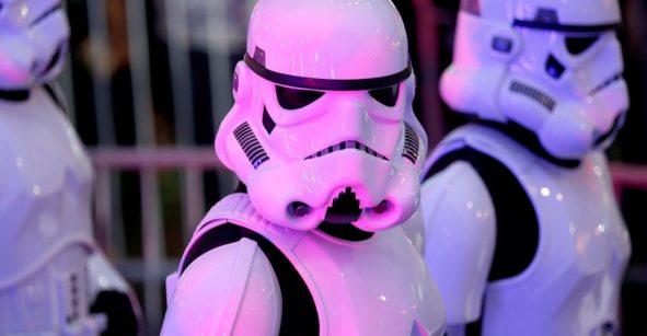 Stormtroopers en la premier de Rogue One