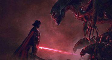 Por favor hazlo posible, Hollywood: ¡Star Wars vs Aliens!