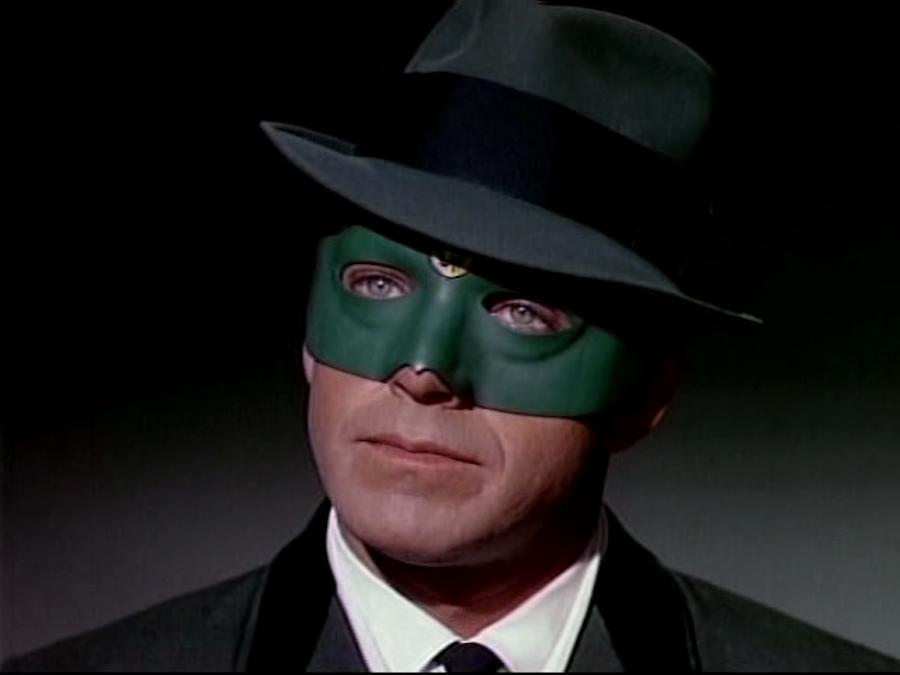 Van Williams como el Avispón Verde