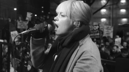 Lily Allen hace un cover a Rufus Wainwright