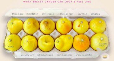 Esta imagen viral es una gran guía para detectar el cáncer de mama