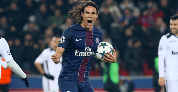 Grande 'Matador': Edinson Cavani el mejor goleador de Europa