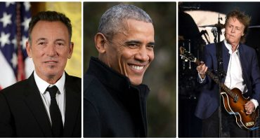 Así se puso la fiesta de despedida de Obama con Springsteen y McCartney