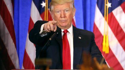Esto fue lo más importante de la primera conferencia de prensa de Donald Trump