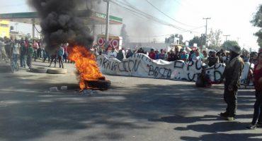 Protestas por el gasolinazo: 24 horas en Ecatepec