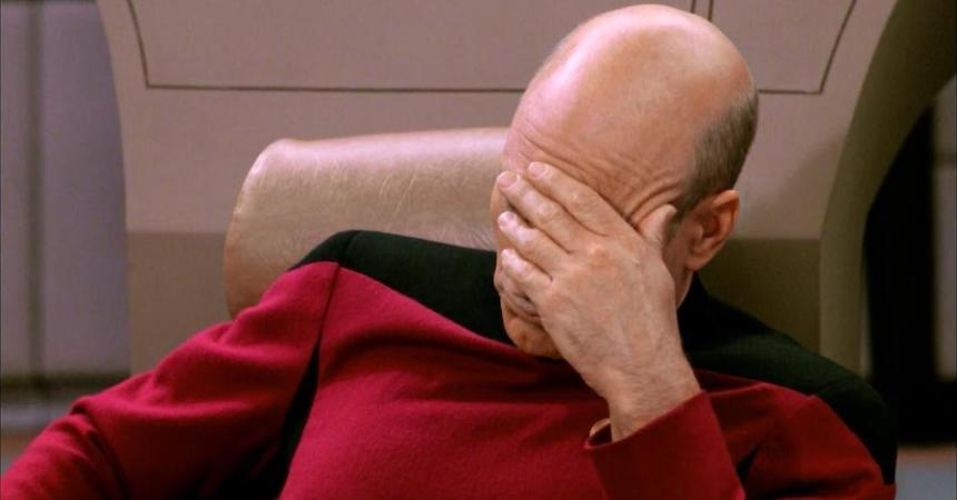 Facepalm - Star Trek