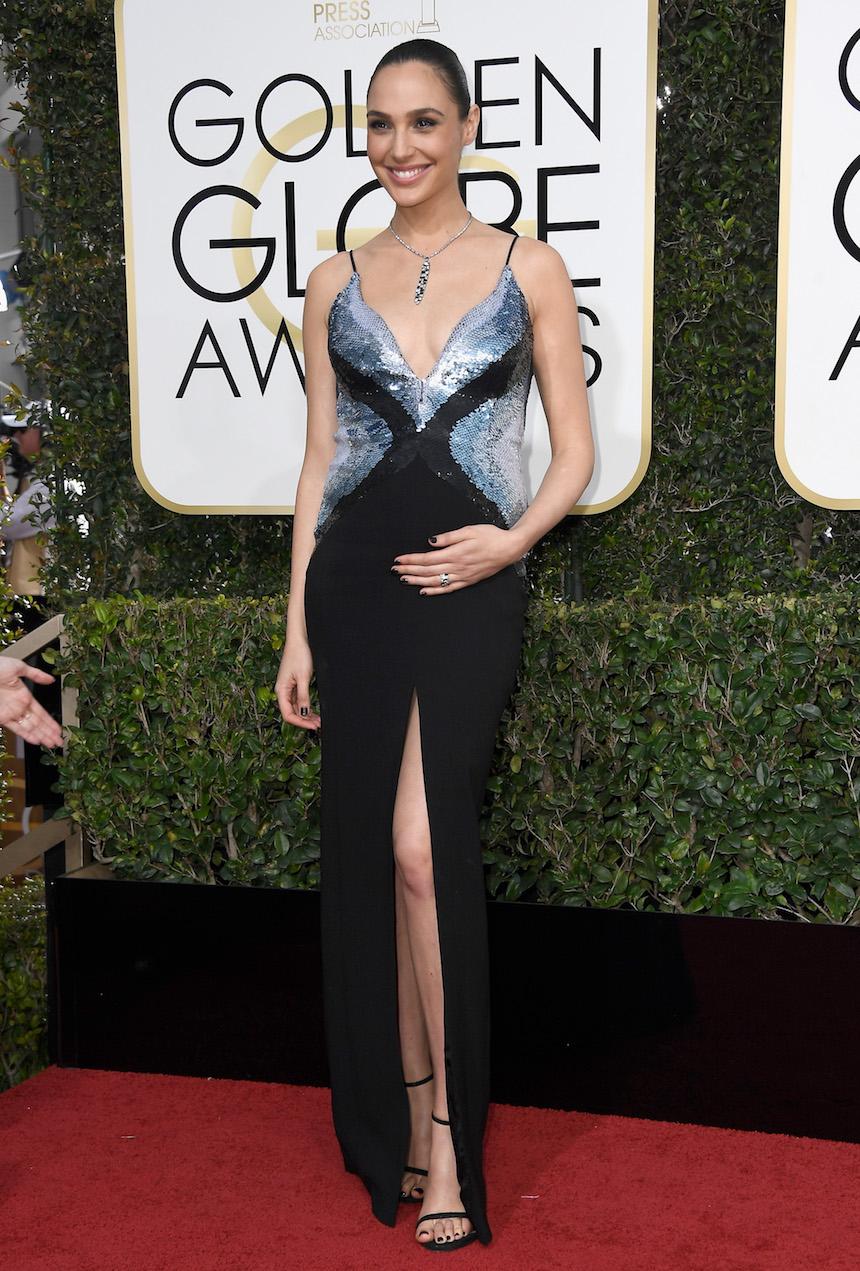 Gal Gadot en los Golden Globes
