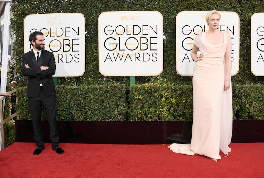 Gwendoline Christie y Jay Duplass