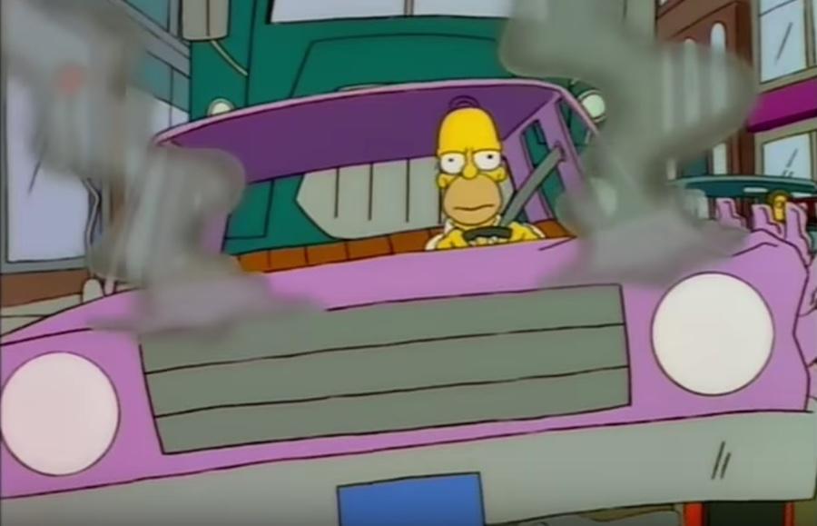 Misterio resuelto: ¡Esta es la marca y modelo del auto de Homero Simpson!