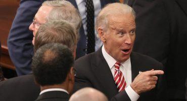 Joe Biden se despide tomando el metro para ir a su casa