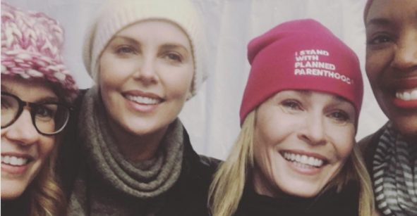¡Arriba las mujeres!: los famosos se hicieron notar en la @WomensMarch
