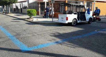 En Mazatlán, con una línea en el suelo se protege a los turistas del crimen... ¿qué?