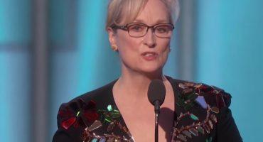 El poderoso discurso de Meryl Streep y las críticas a Donald Trump en los Globos de Oro