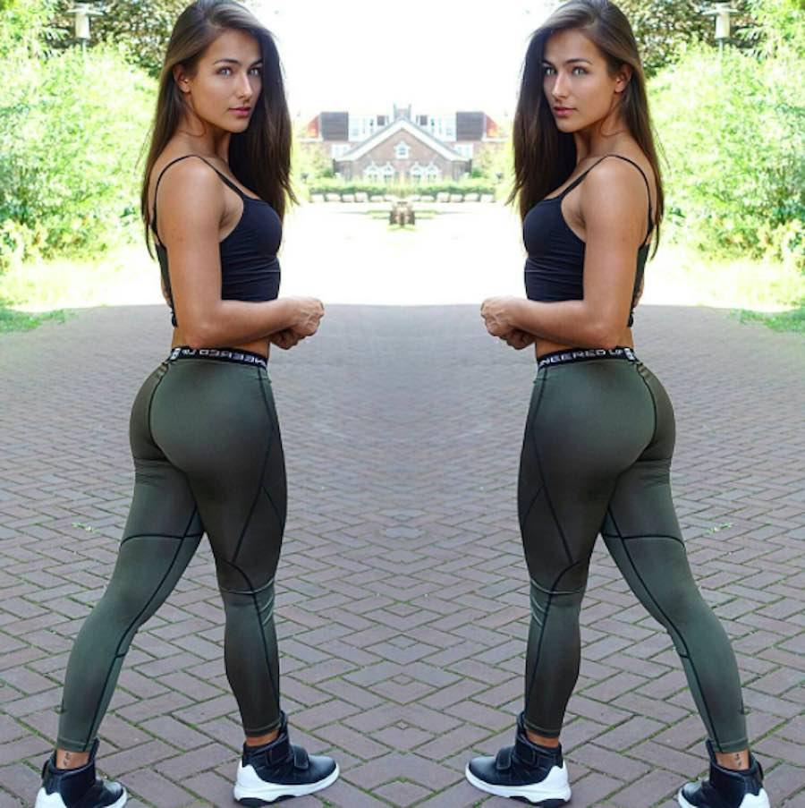 Nochtli Peralta - Selfie con leggins